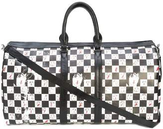 Enfants Riches Deprimes checkered duffle bag