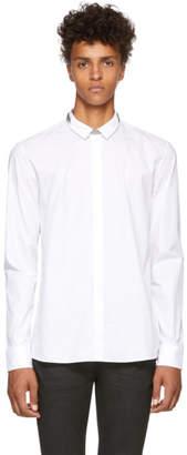 Balmain White Chain Shirt