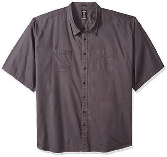 Dickies Men's Relaxed Fit Solid Short Sleeve Shirt 6X Big-Tall