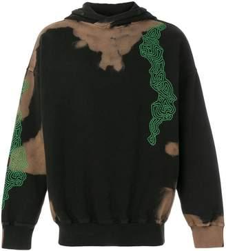 Damir Doma graphic print hoodie