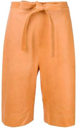 J.W.Anderson high-waisted tie shorts