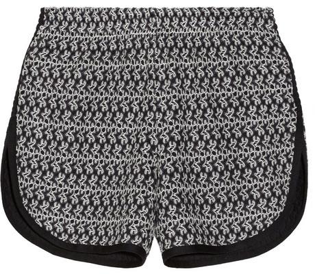 Missoni Macramé wool-blend shorts