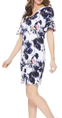 Aryeh Ruffle Floral Dress