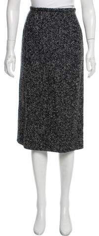 Michael Kors Virgin Wool-Blend Pencil Skirt