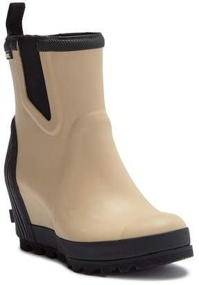 Sorel Joan Waterproof Wedge Felt Chelsea Boot