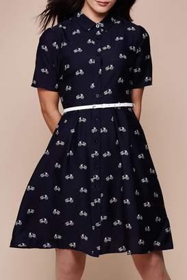 Yumi Bicylcle Shirt Dress