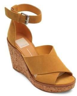 Dolce Vita Urbane Suede Wedge Sandals