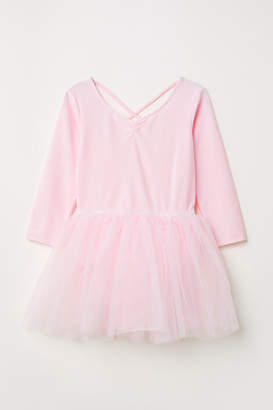 H&M Dance Leotard with Tulle Skirt - Pink