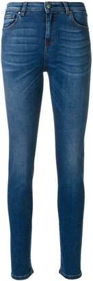 Fay stonewashed skinny jeans