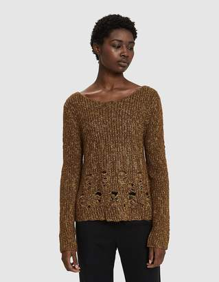 Rachel Comey Oblique Distressed Sweater