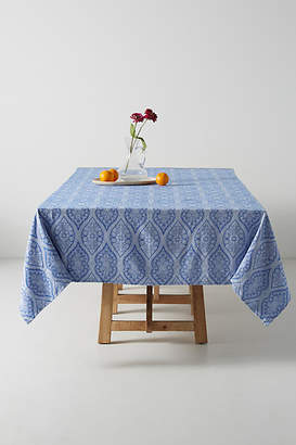 Anthropologie Florita Jacquard Tablecloth