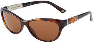 Gucci Butterfly Plastic Sunglasses