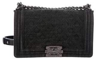 Chanel Fall 2015 Medium Denim Boy Bag