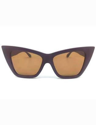 ELOQUII Pointed Rectangular Sunglasses