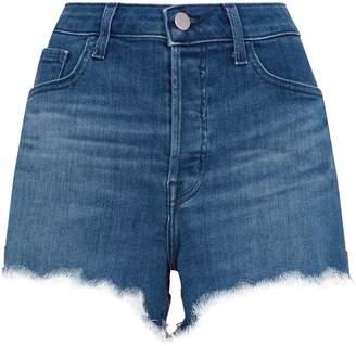J Brand Gracie High-Waist Shorts