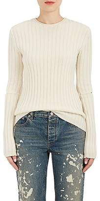 Helmut Lang RE-EDITION Women's Elbow-Cutout Wool Sweater
