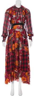 Preen by Thornton Bregazzi Jacquard Maxi Dress