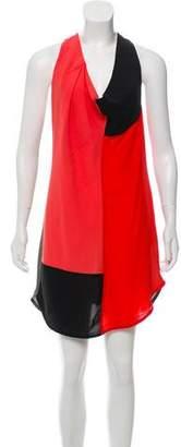 Alexander Wang Colorblock Sleeveless Dress