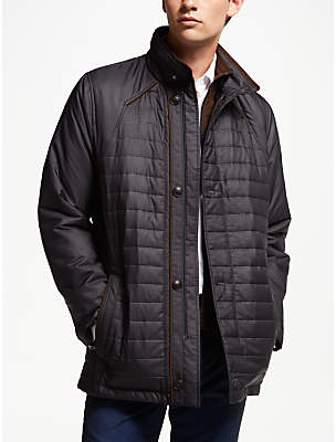 Bugatti Button Up Quilted Field Jacket, Blue