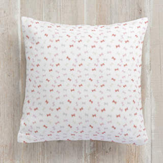 Bow Me Away Square Pillow
