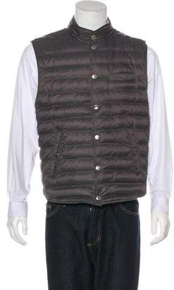 Brunello Cucinelli Quilted Down Gilet w/ Tags