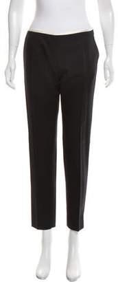 Bouchra Jarrar Wool Mid-Rise Pants w/ Tags