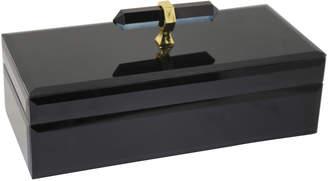 Sagebrook Home Black Gem Storage Box