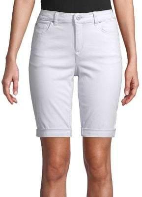 Jones New York Moon Lexin Denim Shorts