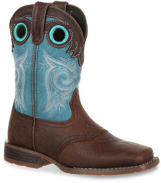 Durango Lil' Mustang Western Saddle Toddler & Youth Cowboy Boot - Girl's