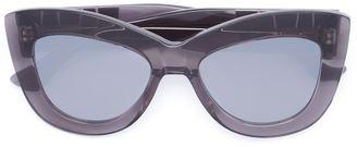 Vera Wang cat eye frame sunglasses $375 thestylecure.com