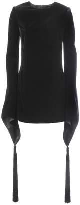 Saint Laurent Asymmetric Cuffs Dress