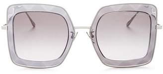Bottega Veneta Women's Oversized Square Sunglasses, 51mm