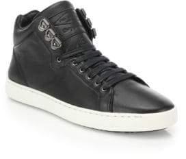 Rag & Bone Kent Leather High-Top Sneakers
