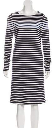 Derek Lam Striped Long Sleeve Dress