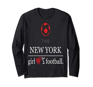 Ny Girls Football Long Sleeve Tee for Woman