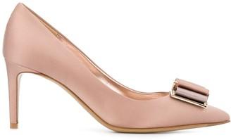 Salvatore Ferragamo pointed high heel pumps