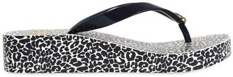 Tory Burch 40mm Leopard Printed Flip Flops