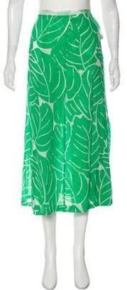 Diane von Furstenberg Printed Midi Skirt