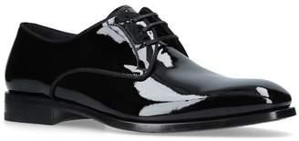 Salvatore Ferragamo Patent Charles Derby Shoes