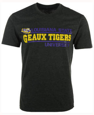 Colosseum Men's Lsu Tigers Verbiage Stack T-Shirt