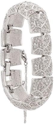 Swarovski D'orlan Vintage 1980's embellished articulated bracelet