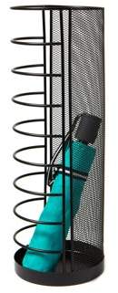 Mind Reader Umbrella Stand Rack Holder for Home and Office,Small Size, Black