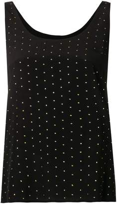 Twin-Set studded tank top