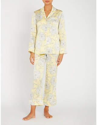Olivia Von Halle Lila Kira silk pyjama set