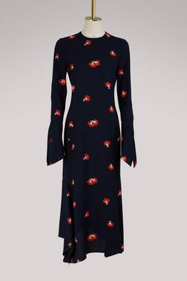 Victoria Beckham Long-sleeved asymmetric dress