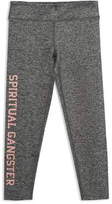 Spiritual Gangster Girls' Logo Leggings - Little Kid