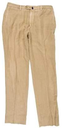 Incotex Linen-Blend Pants