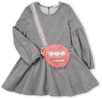Baby Sara Girls 4-6x) Monster Bag Balloon Dress