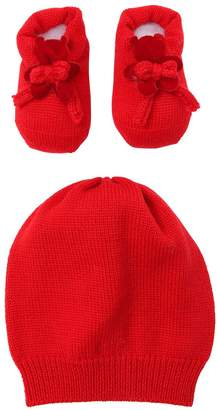 La Perla Bears Wool Knit Hat & Socks