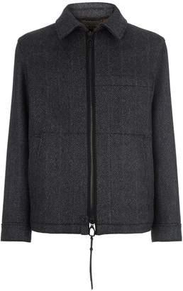 Lanvin Herringbone Collared Jacket